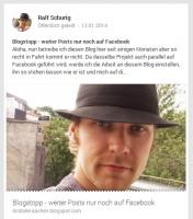 "GooglePlus: ""Ralf Schurig Heilerseite\"" (Screenshot)"